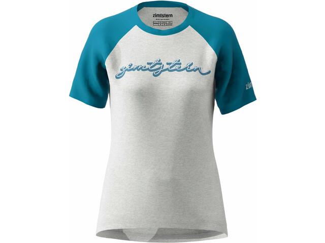 Zimtstern Sweetz Koszulka Kobiety, szary/niebieski